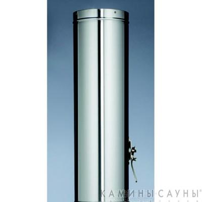 Дымовая труба 1х1м с заслонкой к барбекю Tundra Grill (нержавеющая сталь) (Muurikka, Финляндия)