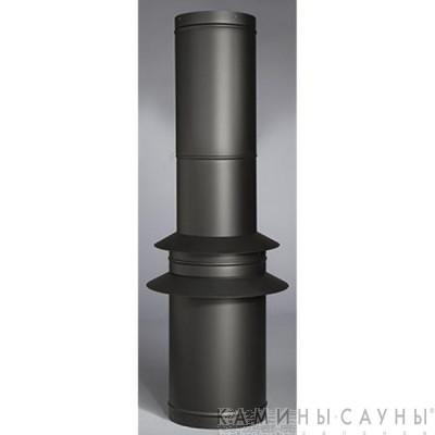 Комплект дымовых труб 1х1,5м к барбекю Tundra Grill (черный) (Muurikka, Финляндия)
