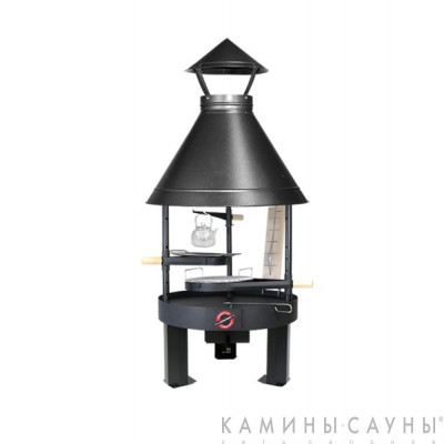 Барбекю Tundra Grill ® 25-th Anniversary Basic Low 80 (античное серебро) (Muurikka, Финляндия)