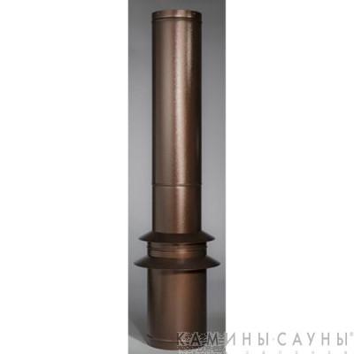 Комплект дымовых труб 2х1м к барбекю Tundra Grill (античная медь) (Muurikka, Финляндия)