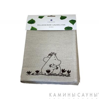 Полотенце для сауны Love Moomin, 50х150см, Финляндия