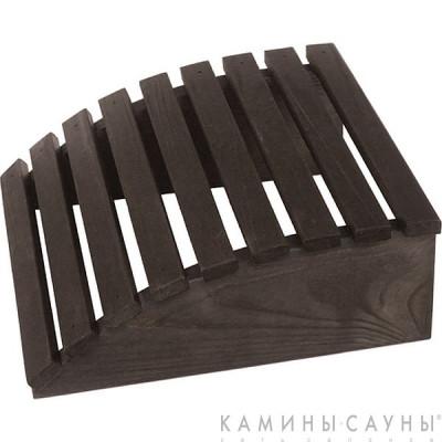 Подголовник деревянный (сосна - темный цвет)