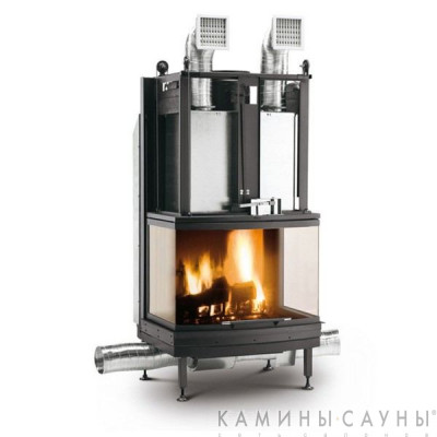 Каминная топка S78 3D Front Version in Magnofix (Palazzetti, Италия)
