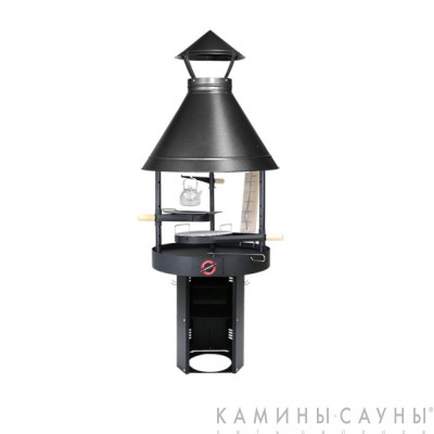 Барбекю Tundra Grill ® 25-th Anniversary Basic High 80 (античное серебро) (Muurikka, Финляндия)