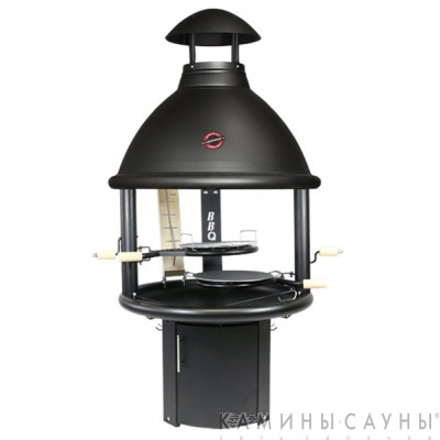 Барбекю Tundra Grill ® BBQ Low (черная) (Muurikka, Финляндия)