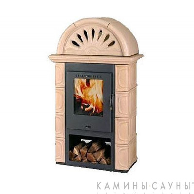 Печь Borgholm Keramik Plus (цвет капучино)