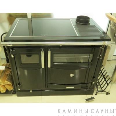 Кухонная дровяная печь Pas II с витрокерамической варочной поверхностью (Hergom, Испания)