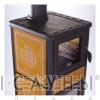Дровяная печь Dafne Forno (желтая)