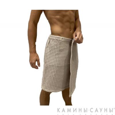 Килт для сауны мужской (цвет песочный)
