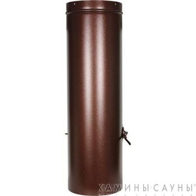 Дымовая труба 1х1м с заслонкой к барбекю Tundra Grill (античная медь) (Muurikka, Финляндия)