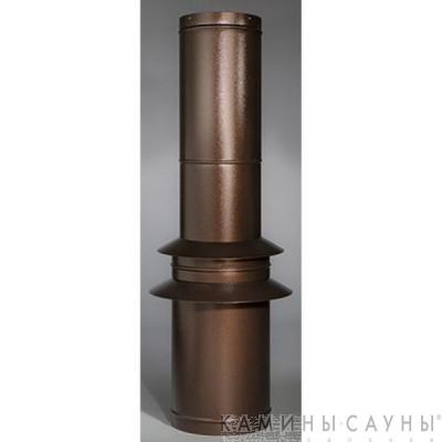 Комплект дымовых труб 1х1,5м к барбекю Tundra Grill (античная медь) (Muurikka, Финляндия)
