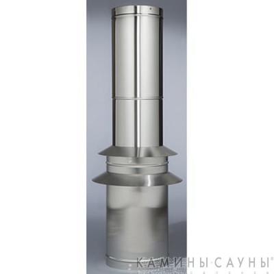 Комплект дымовых труб 1х1,5м к барбекю Tundra Grill (нержавеющая сталь) (Muurikka, Финляндия)