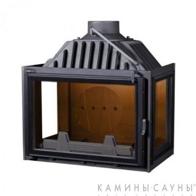 Каминная топка PanTherm 80 Nero Eco (три стекла) (Technical, Венгрия)