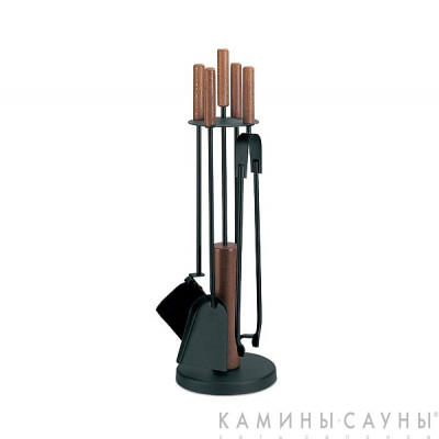 Каминный набор Comex 50.541L (4 предмета) Black Series