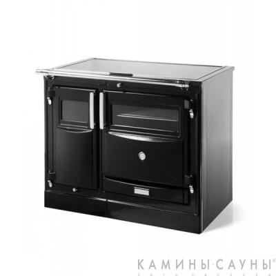 Кухонная дровяная печь Pas II с чугунной варочной поверхностью (Hergom, Испания)