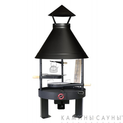 Барбекю Tundra Grill ® 25-th Anniversary Basic Low 80 (черный) (Muurikka, Финляндия)