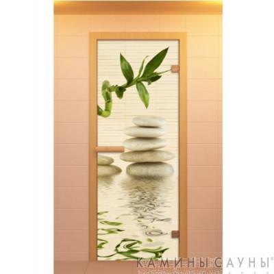 """Дверь для сауны """"Релакс"""" 70х190мм"""