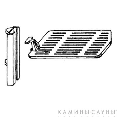 Решетка-гриль к печи Franklin 82 (Hergom, Испания)