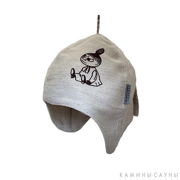Льняная шапка для сауны Little My (Малышка Мю), Финляндия