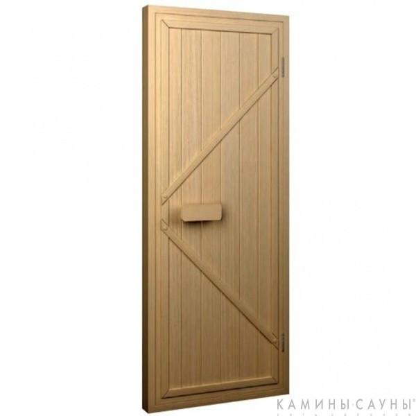 Дверь для сауны деревянная 80х180мм