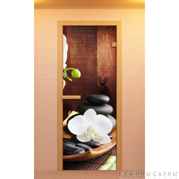 """Дверь для сауны """"Спа"""" 70х190мм"""